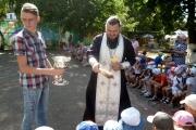 Детсады Тимашевска встретили Яблочный Спас