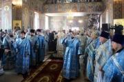 В кафедральном соборе Новороссийска Предстоятель Русской Православной Церкви совершил Божественную литургию
